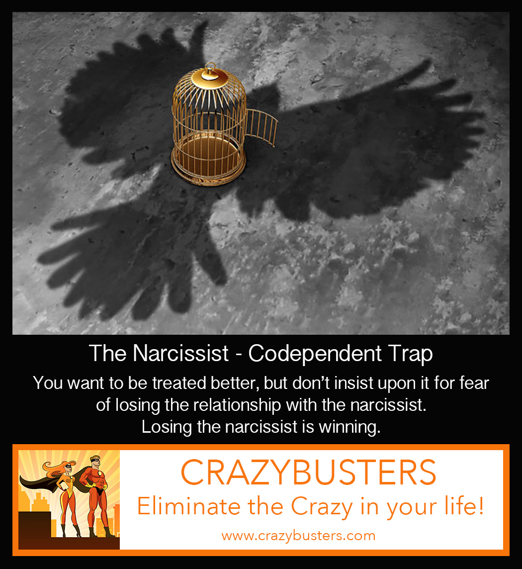 The Narcissist-Codependent Trap: Having Boundaries Ends the